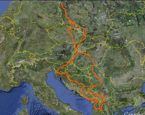 Krzaczing – czyli Autostopem przez Bałkany