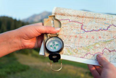 Nawigowanie i orientacja w terenie.