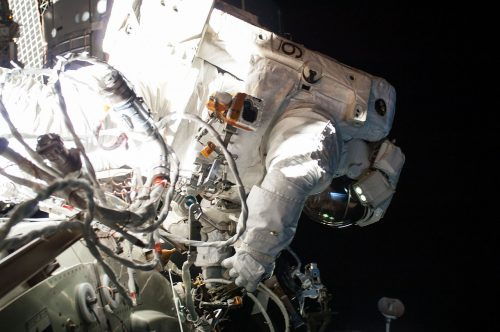 Wełna w kosmosie – Terry Virts